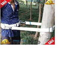 Safety Belt With Adjustable Lanyard Tree Climbing Construction Harness Gear Kit