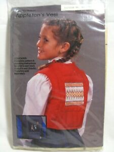 Child-and-Adult-Little-Miss-Muffet-Appletons-Vest-Pattern-Smocking-Instructions
