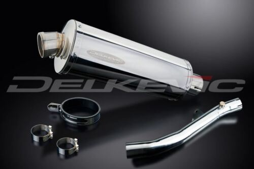"Honda CBR600 F4i 2001-2006 Exhaust Delkevic 14"" Stainless Oval Slip On Muffler"
