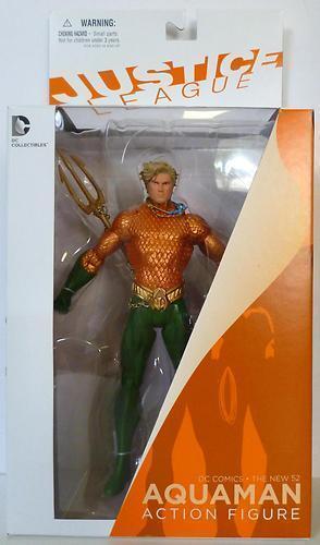 DC Comics NUEVO 52 Liga De La Justicia Aquaman Figura De Acción vendedor de Reino Unido