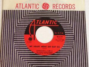 Barbara-Lewis-My-Heart-Went-Do-Dat-Da-1962-US-Soul-45-NEAR-MINT-NOS