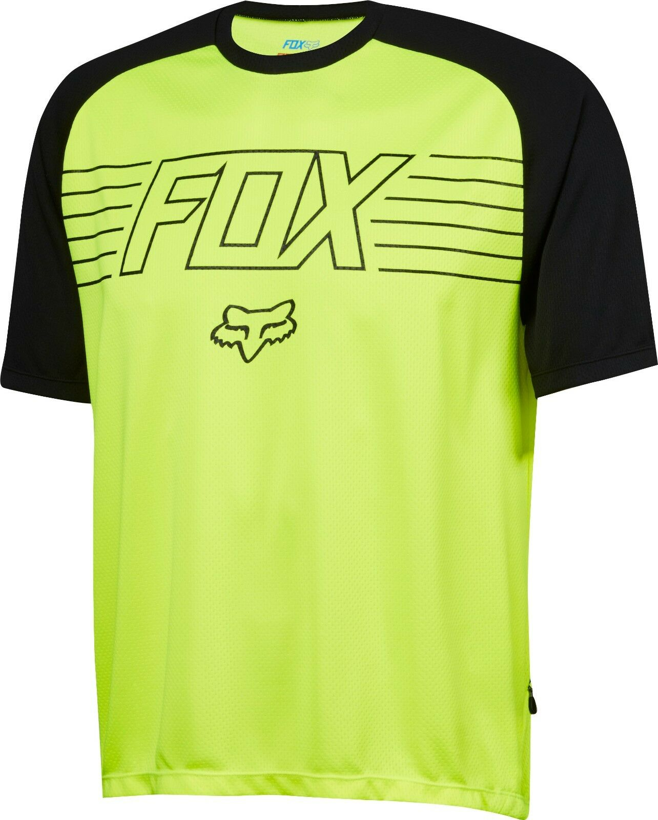 Fox Racing Ranger Print s s Jersey Flo Gelb