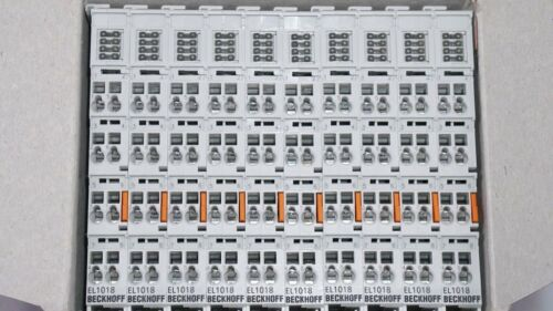filtro 10 µs nuevo 1 unidades Beckhoff el1018 8-canal-Digital-entrada borna 24 V DC