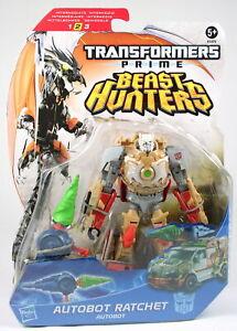 "Transformers Prime Beast Hunters Deluxe RATCHET 6"" Autobot action figure - NEW!"