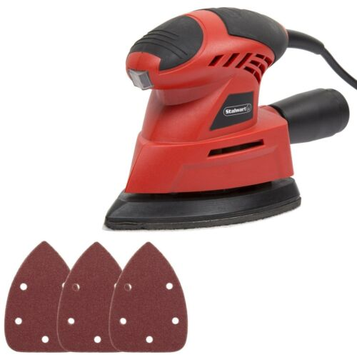Details about  /Corded 28 pc Electric Mouse Sander Set by Stalwart