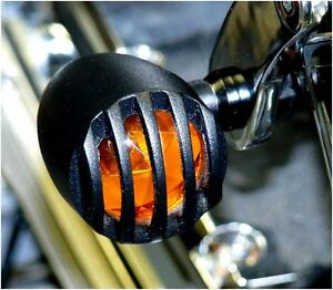 Mini-Blinker-Bullet-schwarz-Harley-davidson-softail-fatboy-night-train-blackline