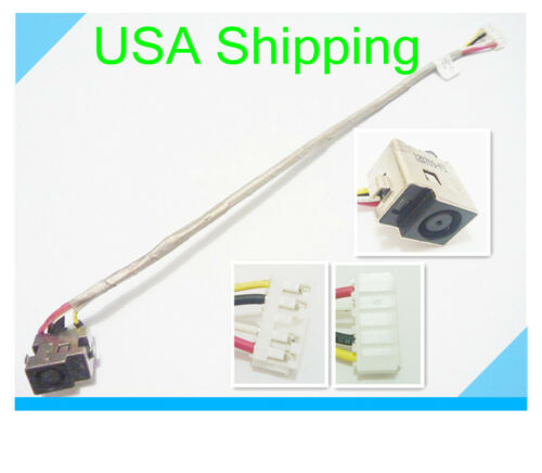 Original dc power jack cable harness for HP PAVILION DV7-1000 series DC301004S00
