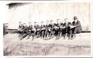 VINTAGE-YOUNG-MEN-TERRIER-DOG-VERNACULAR-PHOTOGRAPHY-ARTISTIC-LINE-EARLY-PHOTO