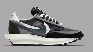 Brand New Sacai Nike LD Waffle Black White Size 9.5 BV0073-001 | 100% Authentic