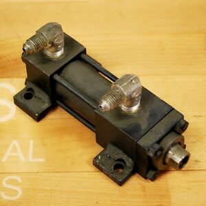 """Hydro-line HR5A 1X.75 Pneumatic Cylinder 1"""" Bore 3/4"""" Stroke - USED"""