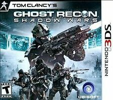 Tom Clancy's Ghost Recon: Shadow Wars (Nintendo 3DS, 2011)