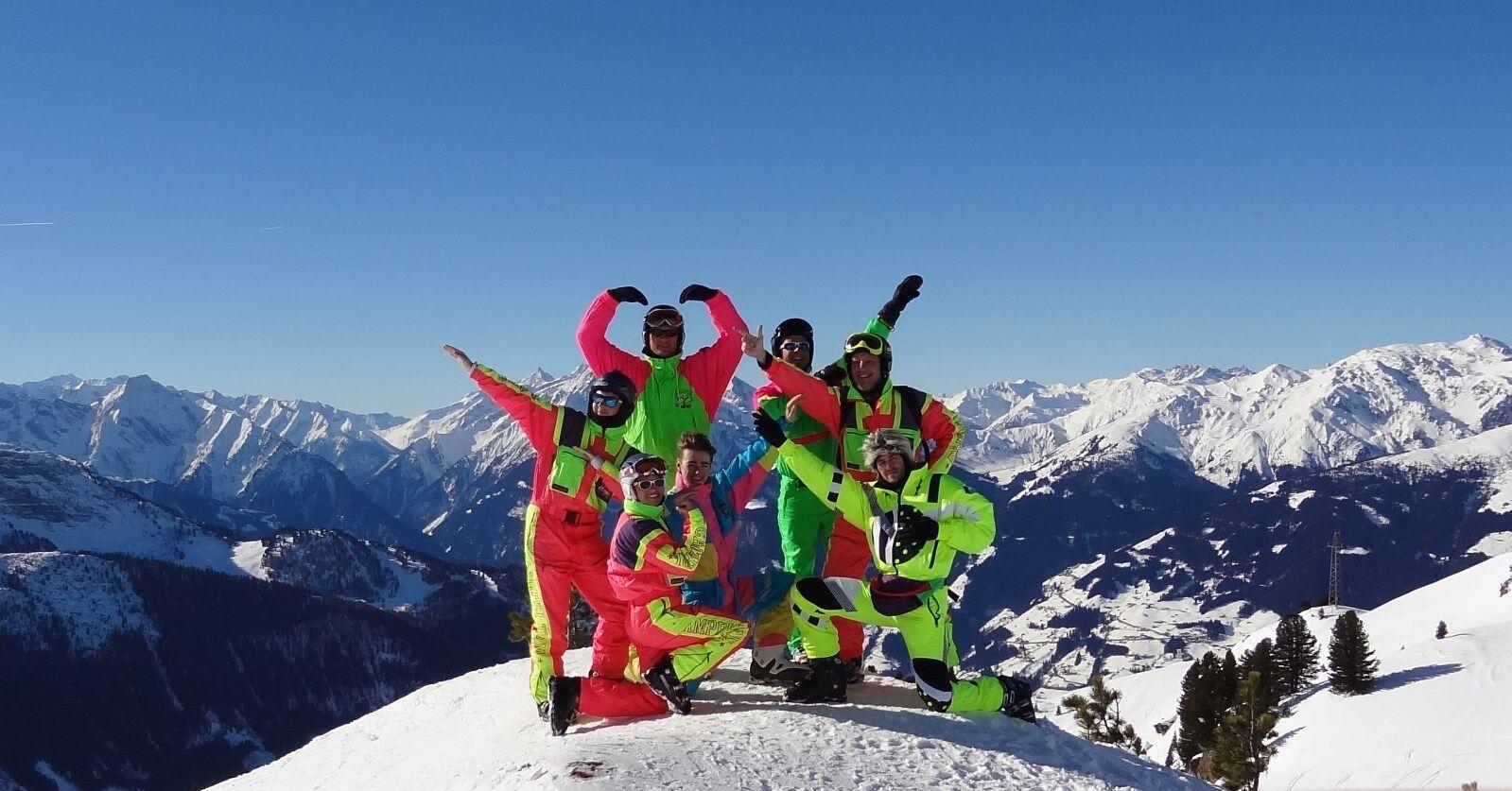Retro Vintage 80's 90's Ski Suit Suit Ski STAG Neon Apres Ski O'NEILL FORD SKY REPORT 9a9b3c