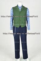 Dark Knight Rises Batman Joker Cosplay Costume vest shirt pants Halloween Party