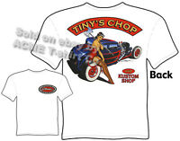 1930 1931 1932 Ford T Shirt 30 31 32 Hot Rod Tee Coupe Pin Up Clothes Tinys Chop