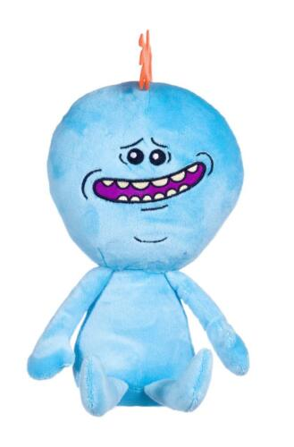 "meeseeks Large 12/"" Soft Plush Toy Teddy neuf avec étiquettes Officiel Rick and Morty M"