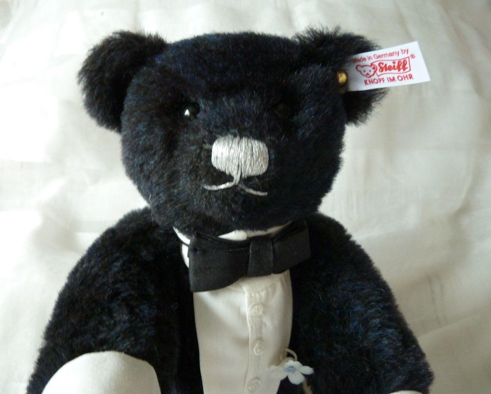 Steiff Bräutigam aus Set glückliche Brautpaar 677083 Teddybär Teddy Bär Hochzeit