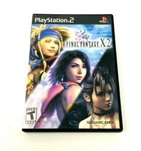 FINAL FANTASY X-2 --- PLAYSTATION 2 PS2 Complete CIB w/ Box, Manual 2003