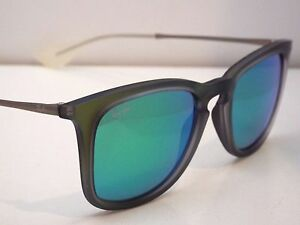 81aad06a77010 Authentic Ray-Ban RB 4221 6169 3R Green Gunmetal Green Flash ...