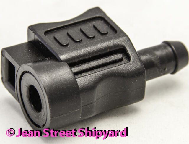 Marine Outboard Motor Fuel Connector Fitting Johnson Evinrude 3//8 Barb 20551