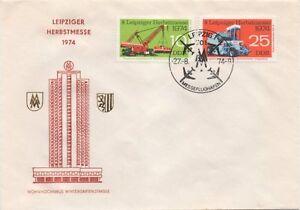 1973/4 &quot;Leipziger Herbstmesse 1974&quot; FDC - <span itemprop='availableAtOrFrom'>Oranienburg, Deutschland</span> - 1973/4 &quot;Leipziger Herbstmesse 1974&quot; FDC - Oranienburg, Deutschland