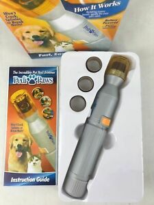 NEW-Pedi-Paws-Nail-Trimmer-Grinder-Grooming-Tool-Care-Clipper-For-Pet-Dog-Cat