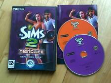 The Sims 2 Nightlife Expansion Pack PC CD ROM
