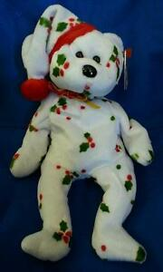 Image is loading TY-BEANIE-BABY-1998-HOLIDAY-TEDDY-CHRISTMAS-BEAR- 50528928051