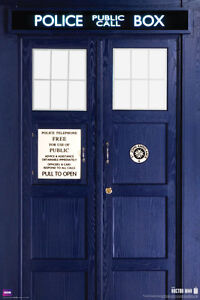 Doctor Who New 11th Doctor S Tardis Large 24x36 Bbc Tv Show Poster 5597 Ebay