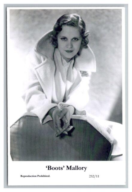 'Boots' Mallory c Swiftsure Postcard year 2000 modern print 232/11 glamour photo