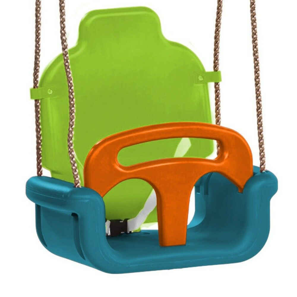 WICKEY Babyschaukel 3 in 1 verstellbar Schaukelsitz Kinderschaukel Schaukel