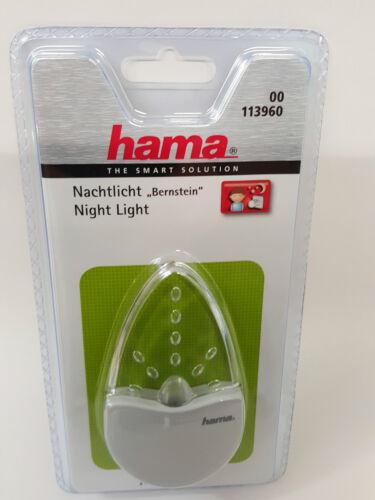 stromsparendes Orientierungslicht und Stimmungslicht Berns Hama LED Nachtlicht