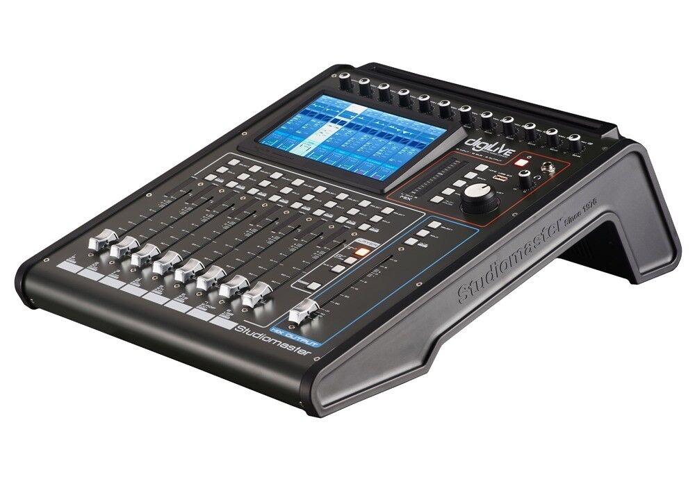 Studiomaster Digitales Mischpult Digilive 16 Mixer Digitalpult - Neuware
