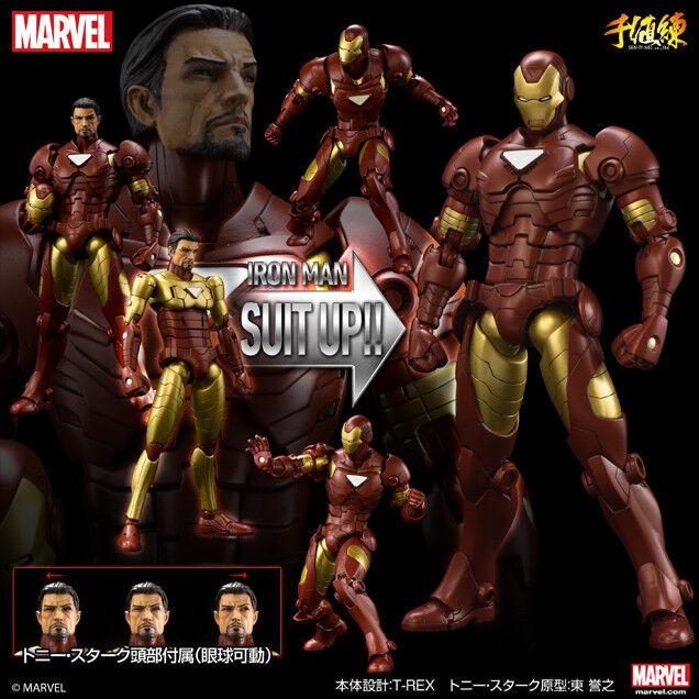 alta calidad SEN51006  Sentinel armorize Iron Man Figura De Acción (versión (versión (versión estándar)  precios bajos todos los dias