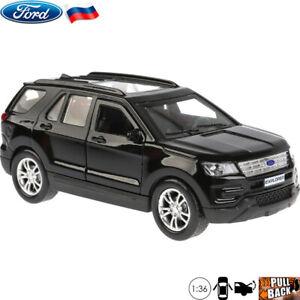 Vehiculos-Diecast-Escala-1-36-Ford-Explorer-ruso-Modelo-del-Coche-de-juguete