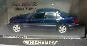 Minichamps-430038027-Mercedes-Benz-CL-1999-dunkelblau-1-43-NEU-amp-OVP