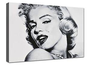 Quadro Moderno Stampa su tela Quadri Moderni cm 100x70 Casa Marilyn ...