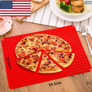 Silicone-Baking-Tray-Oven-Sheets-Mat-Pan-Pyramid-Non-Stick-Fat-Reducing-Cooking