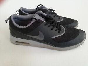 Details zu Nike Air MAX THEA Schuhe Schwarz Gr. 42,5 Gebraucht 41 42