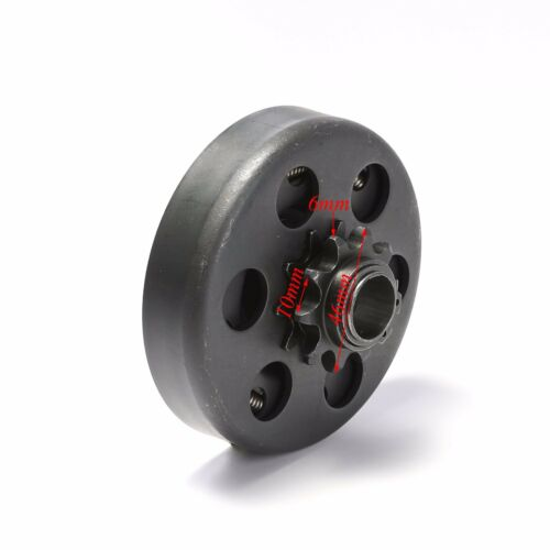 """GO KART CLUTCH 3//4/"""" BORE 10 TOOTH 10T FOR 40,41,420 CHAIN 6.5HP  Motor"""