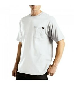 Dickies T Shirt Mens Short Sleeve Pocket Tee WS450 Cotton Solid ... 49b1e9df62f8