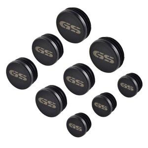9-Stuecke-Rahmen-Loch-Kappen-Abdeckung-Plug-Set-fuer-Bmw-R1200Gs-R1200-Gs-W7J9
