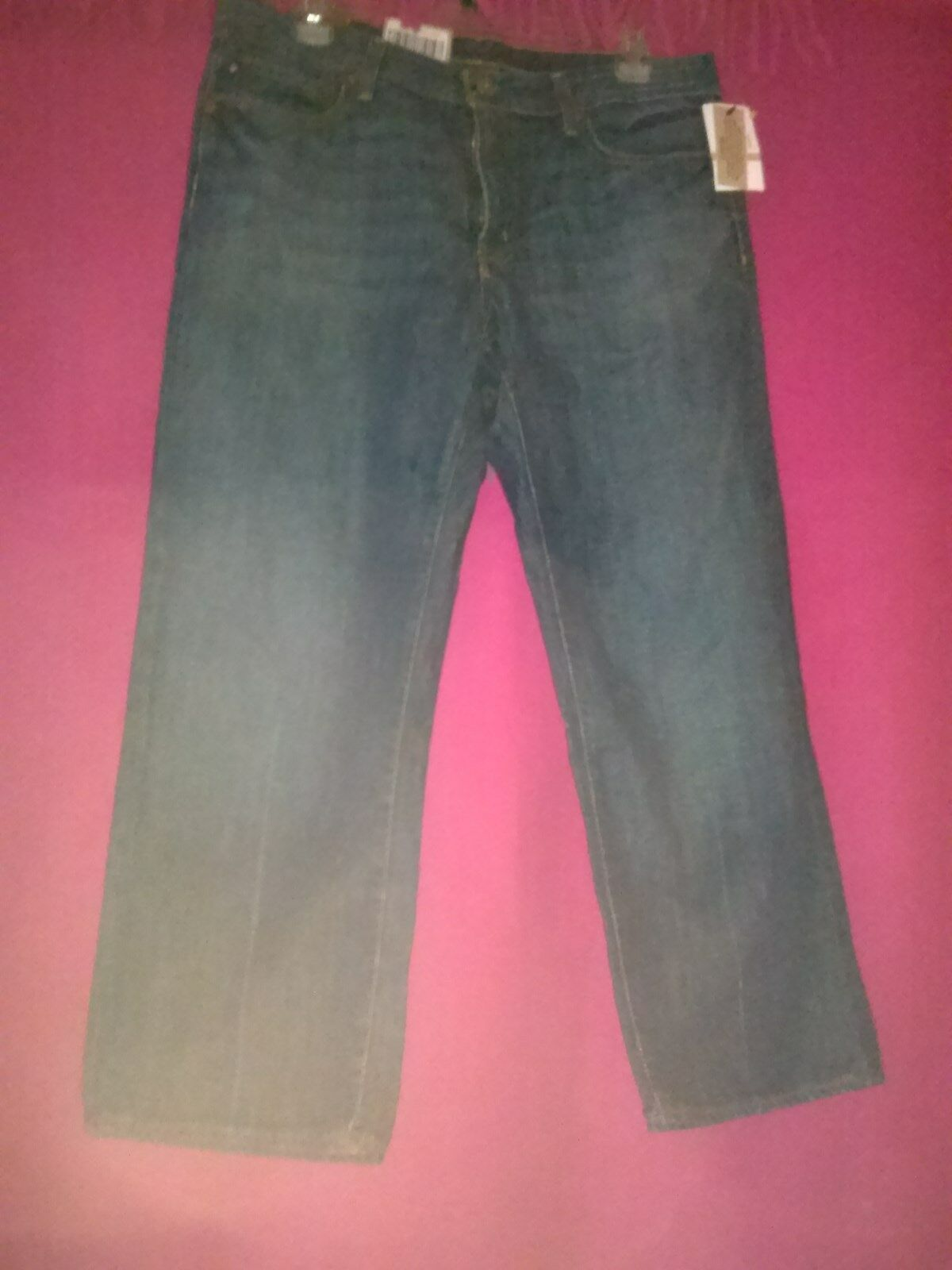 POLO JEANS RALPH LAUREN CROPPED KELLY JEANS LOW RISE CROPPED LEG  WOMENS SIZE 12