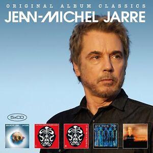 Jean-Michel-JARRE-Original-Album-Classics-vol-2-5-CD-NEUF