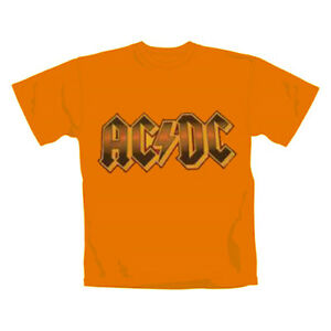 AC-DC-Logo-Flock-T-Shirt-Size-M-Neu