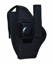 Ambidextrous Gun Belt Holster w Pouch Fits Glock 19 23 Pocket 26 27 Size 16 260B