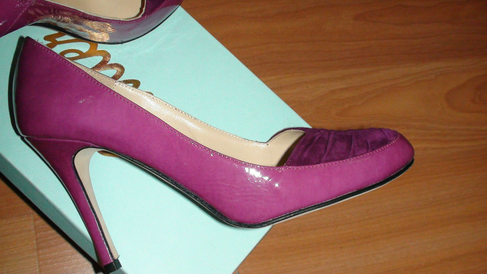 negozio online outlet NEW BUTTER PARKER PARKER PARKER viola donna scarpe sz. US 8 M MADE IN ITALY  sconti e altro