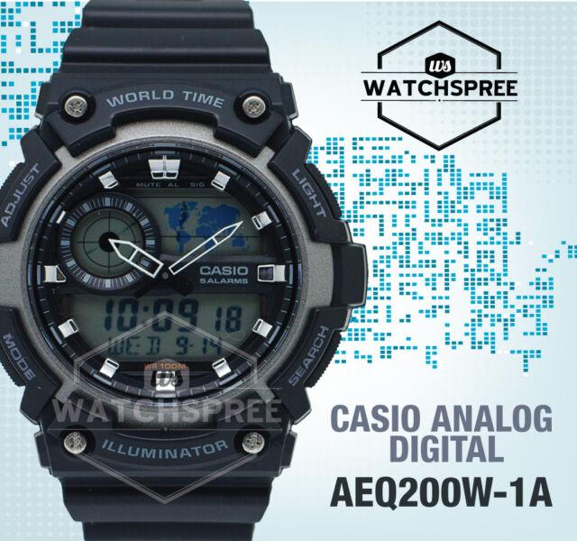 Casio Standard Analog Digital Watch AEQ200W-1A