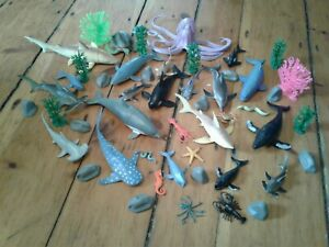 50 Animal Planet Mega whales Sharks FIGURE TOYS R US Lot