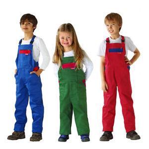 stabile Qualität Online kaufen besondere Auswahl an Details zu PLANAM Kinderlatzhose Latzhose Kinder Hose Workwear Mädchen  Arbeitshose Junge