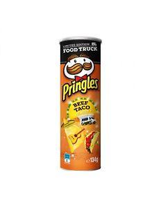 Pringles Beef Taco 134g Ebay